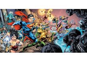 漫画壁纸,公正,联盟,超级英雄,奇迹,妇女,超人,Aquaman,风暴,电子
