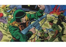 漫画壁纸,军用品,乔,壁纸(2)