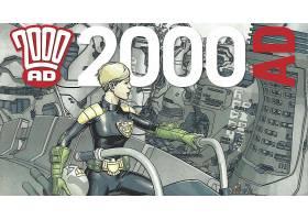 漫画壁纸,2000,广告,法官,安德森,壁纸