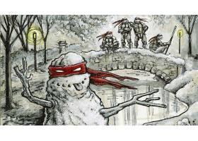 漫画壁纸,TMNT,壁纸(11)