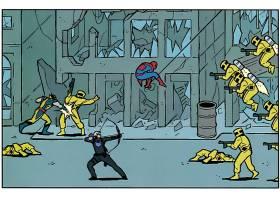漫画壁纸,鹰眼,蜘蛛侠,金刚狼,壁纸