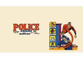 漫画壁纸,警察,漫画壁纸,塑料的,男人,壁纸