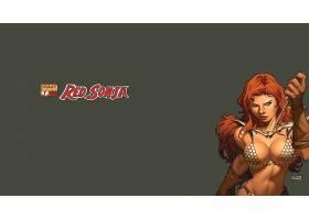 漫画壁纸,红色,Sonja,壁纸(24)