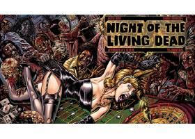 漫画壁纸,夜晚,关于,这,活的,死亡的,壁纸(3)