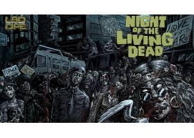 漫画壁纸,夜晚,关于,这,活的,死亡的,壁纸(9)