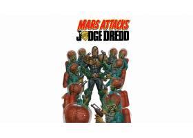 漫画壁纸,火星,攻击,法官,Dredd,法官,Dredd,Dredd,壁纸