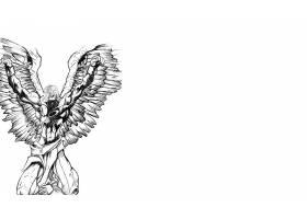 漫画壁纸,x战警,天使,壁纸