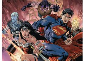 漫画壁纸,超人,奇迹,妇女,壁纸(1)