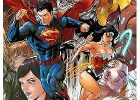 漫画壁纸,超人,奇迹,妇女,壁纸