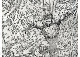 漫画壁纸,超人,释放,超人,金刚狼,壁纸
