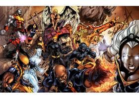 漫画壁纸,x战警,独眼巨人,蓝魔人,金刚狼,巨人,野兽,壁纸