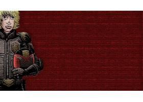 漫画壁纸,法官,Dredd,壁纸(1)