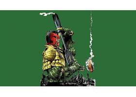 漫画壁纸,法官,Dredd,漫画壁纸,Dredd,壁纸