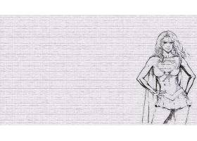 漫画壁纸,超级女声,壁纸(17)