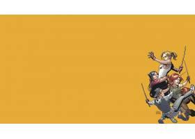 漫画壁纸,淡黄色的,这,吸血鬼,超级杀手乐团,淡黄色的,夏天,淡黄