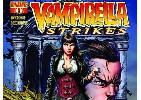 漫画壁纸,Vampirella,打,壁纸(10)