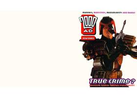 漫画壁纸,2000,广告,法官,Dredd,壁纸(2)
