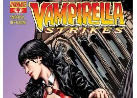 漫画壁纸,Vampirella,打,壁纸(3)