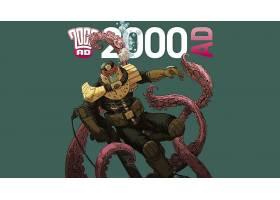 漫画壁纸,2000,广告,法官,Dredd,壁纸(4)