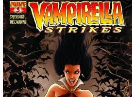 漫画壁纸,Vampirella,打,壁纸(6)