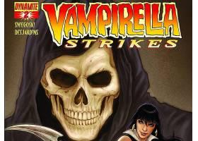 漫画壁纸,Vampirella,打,壁纸(7)