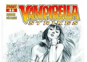 漫画壁纸,Vampirella,打,壁纸(8)