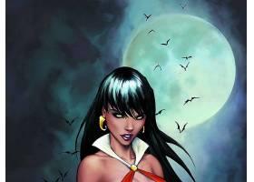 漫画壁纸,Vampirella,打,壁纸(9)