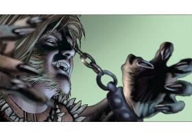 漫画壁纸,金刚狼,vs .,Sabretooth,金刚狼,Sabretooth,壁纸(1)