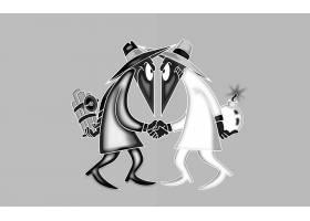 漫画壁纸,间谍,Vs .,间谍,壁纸
