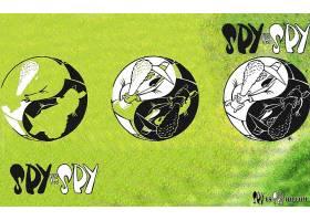 漫画壁纸,间谍,Vs .,间谍,芽,壁纸