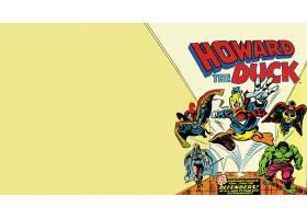 漫画壁纸,霍华德,这,鸭肉,赫然显现,瓦尔基里,壁纸