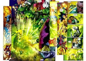 漫画壁纸,绿色的,灯笼,壁纸(12)