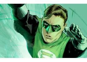 漫画壁纸,绿色的,灯笼,壁纸(14)