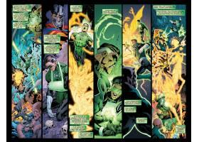 漫画壁纸,绿色的,灯笼,壁纸(5)