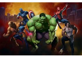 漫画壁纸,奇迹,漫画壁纸,东西,心理战,船长,美国,赫然显现,蜘蛛侠
