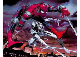 漫画壁纸,抗毒,蜘蛛侠,壁纸