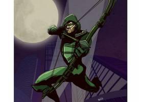 漫画壁纸,绿色的,箭,壁纸(5)