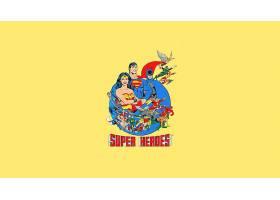 漫画壁纸,拼贴,奇迹,妇女,超人,勤务兵,Shazam,闪光,绿色的,灯笼,