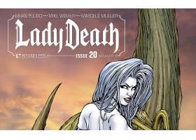 漫画壁纸,女士,死亡,壁纸(1)
