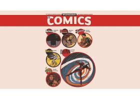 漫画壁纸,拼贴,霍克曼,绿色的,灯笼,勤务兵,超人,Kamandi,木桩或