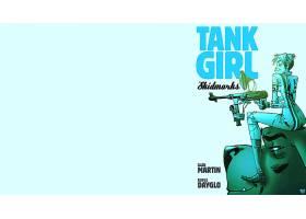 漫画壁纸,坦克,女孩,壁纸(17)