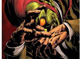 漫画壁纸,黑暗,复仇者联盟,绿色的,小妖精,壁纸