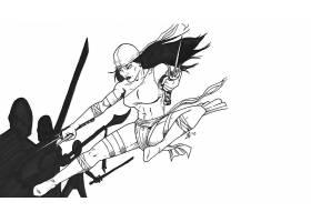 漫画壁纸,埃莱克特拉,壁纸(4)