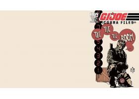 漫画壁纸,军用品,乔,壁纸(4)