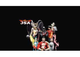 漫画壁纸,公正,社会,关于,美国,鹰派女孩,闪光,绿色的,灯笼,Shaza
