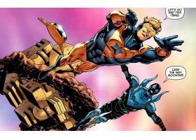 漫画壁纸,助推器,金色的,蓝色,甲虫,哥伦比亚特区,漫画壁纸,壁纸(