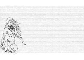漫画壁纸,凤凰,壁纸