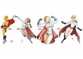 漫画壁纸,力量,女孩,壁纸(13)