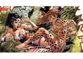 漫画壁纸,公正,联盟,关于,美国,奇迹,妇女,猎豹,壁纸