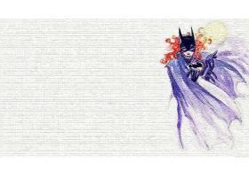 漫画壁纸,蝙蝠女侠,壁纸(22)